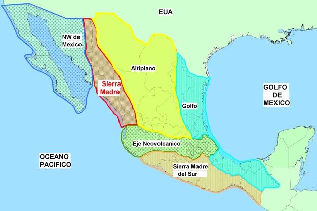 Regiones Mineras de Mexico