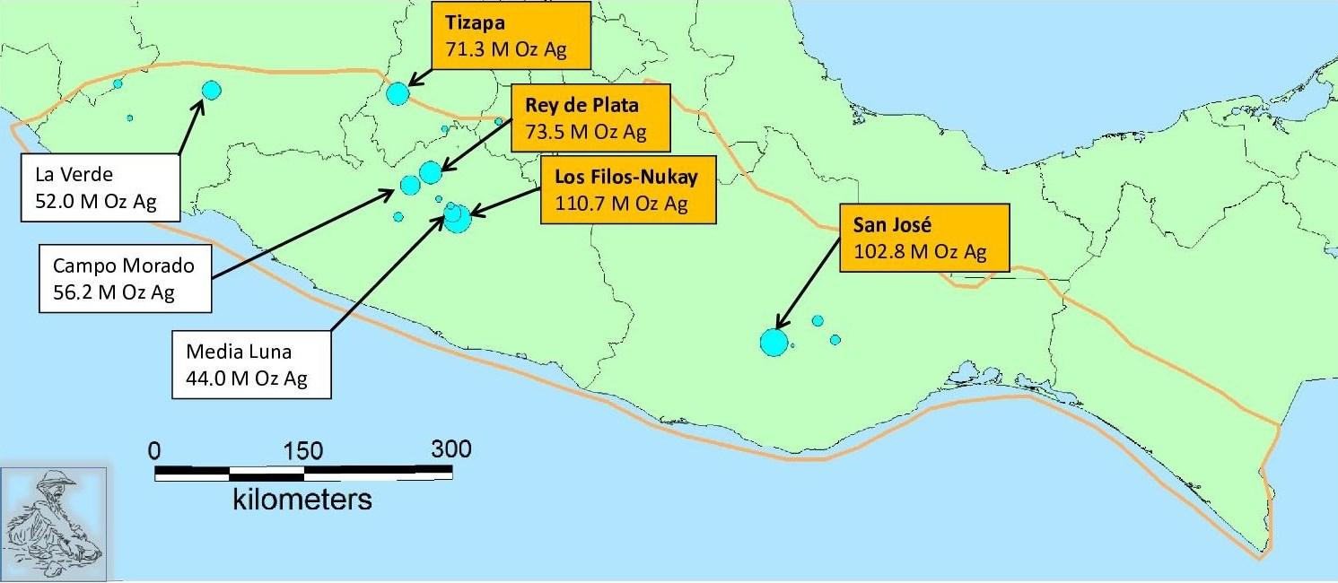 Picture of: Silver Resources In The Sierra Madre Del Sur Gambusino Prospector