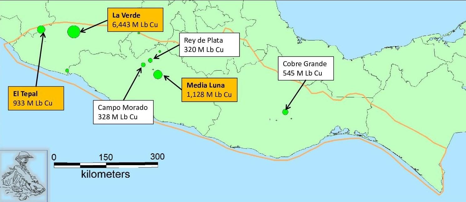 Copper Resources In The Sierra Madre Del Sur Gambusino Prospector