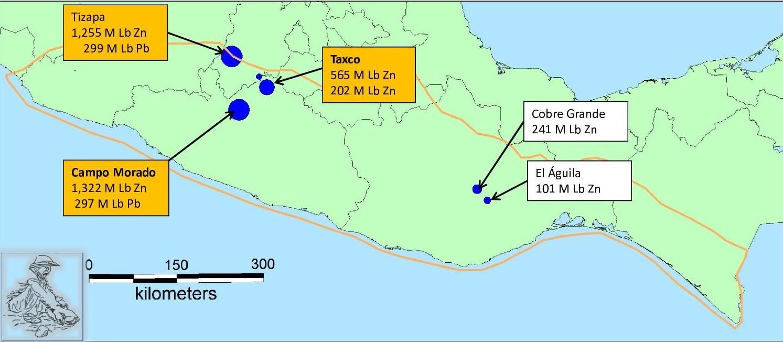 Picture of: Lead Zinc Resources In The Sierra Madre Del Sur Gambusino Prospector